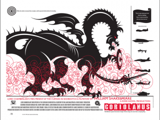 Coriolanus Poster Art