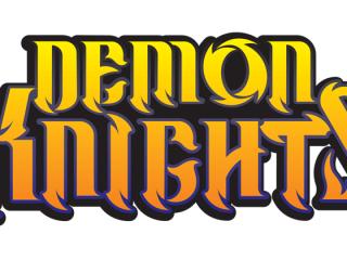 Demon Knights Lettering