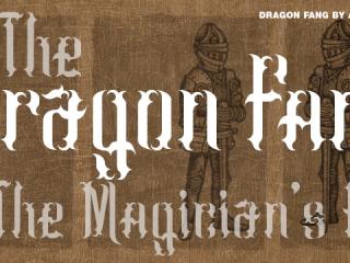 Dragon Fang Font