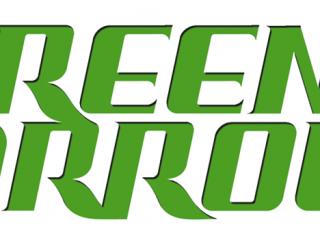 Green Arrow Lettering