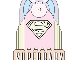 Superbaby Merchandising Art