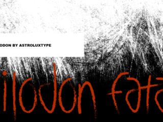 Smilodon Font